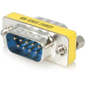 StarTech.com Seriell DB9 Gender Changer - St/St - 1 x DB-9 Stecker Seriell - 1 x DB-9 Stecker Seriell