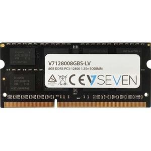 V7 RAM-Modul für Notebook - 8 GB - DDR3-1600/PC3-12800 DDR3 SDRAM - 1600 MHz - CL11 - Ungepuffert - 204-polig - SoDIMM - 1