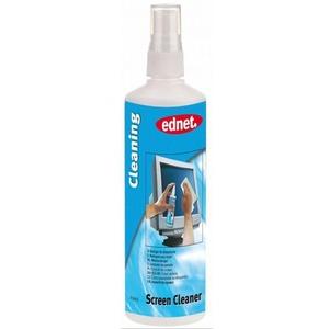 Ednet Bildschirmreiniger Reinigerfür Bildschirme,Glas und Kunststoff oberflächen: Inhalt 250ml. Produkttyp: Gerätereinigun
