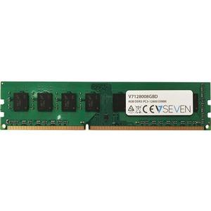 V7 RAM-Modul für Desktop-PC - 8 GB - DDR3-1600/PC3-12800 DDR3 SDRAM - 1600 MHz - CL11 - Ungepuffert - 240-polig - DIMM