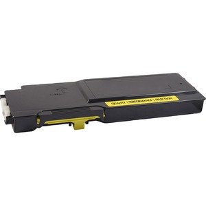 V7 Remanufactured High Yield Yellow Toner Cartridge for Dell C3760 - 9000 page yield - Laser - 9000 Pages 9000 PAGE YIELD