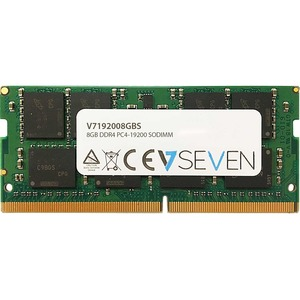V7 RAM-Modul - 8 GB (1 x 8GB) - DDR4-2400/PC4-19200 DDR4 SDRAM - 2400 MHz - CL17 - 1,20 V - Nicht-ECC - Ungepuffert - 260-