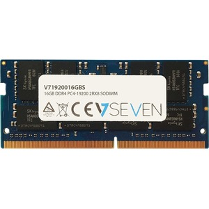 V7 RAM-Modul - 16 GB (1 x 16GB) - DDR4-2400/PC4-19200 DDR4 SDRAM - 2400 MHz - CL17 - 1,20 V - Nicht-ECC - Ungepuffert - 26