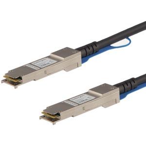 StarTech.com Cisco QSFP-H40G-ACU7M kompatibel - QSFP+ Direktanschlusskabel Twinax - 7m - RJ45 - Erster Anschluss: 1 x QSFP