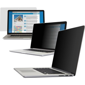 """V7 15 Inch Privacy Filter - For 15"""" Widescreen LCD MacBook - 16:10 FRAMELESS ASPECT RATIO 16:10"""