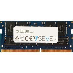 V7 V72130016GBS RAM-Modul - 16 GB - DDR4-2666/PC4-21300 DDR4 SDRAM - 2666 MHz - 1,20 V - Nicht-ECC - Ungepuffert - 260-Pin