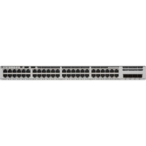 Cisco Catalyst 9200 C9200L-48P-4G Layer 3 Switch - 48 Ports - Manageable - 3 Layer Supported - Modular - 4 SFP Slots - Twi