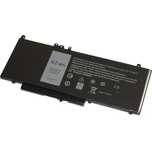 V7 Replacement Battery for Selected DELL Laptops - For Notebook - Battery Rechargeable - 7.6 V DC - 8157 mAh - Lithium Pol