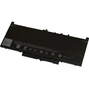 V7 Replacement Battery for Selected DELL Laptops - For Notebook - Battery Rechargeable - 7.6 V DC - 7105 mAh - Lithium Pol