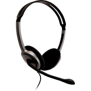 Leichtes V7 Stereo-Headset, ergonomisch einstellbarer Kopfbügel, omnidirektionales, geräuschunterdrückendes Mikrofon (270°