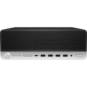 HP Business Desktop ProDesk 600 G5 Desktop Computer - Intel Core i5 9th Gen i5-9500 3 GHz - 8 GB RAM DDR4 SDRAM - 256 GB S