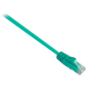 V7 Green Cat6 Unshielded (UTP) Cable RJ45 Male to RJ45 Male 10m 32.8ft - 32.81 ft Category 6 Network Cable for Modem, Rout