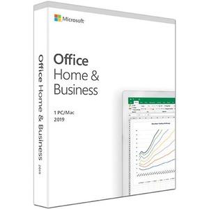 Microsoft Office Famille et Petite Entreprise 2019 - Box Pack - 1 PC/Mac - Medialess - Français - PC, Mac à processeur Intel