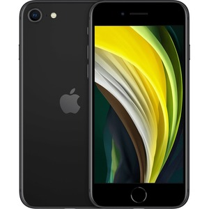 Apple iPhone SE 128 GB Smartphone - 11,9 cm (4,7 Zoll) LCD HD 750 x 1334 - 3 GB RAM - iOS 13 - 4G - Schwarz - Bar - 2 SIM
