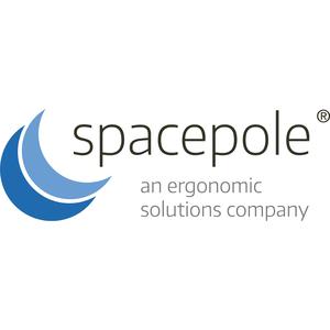 Plaque de montage SpacePole pour Imprimante - Noir