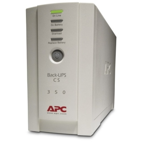 APC Back-UPS CS 350VA - 8 Hour Recharge - 6.60 Minute Stand-by - 110 V AC Input - 120 V AC Output - 3 x NEMA 5-15R, 3 x NE