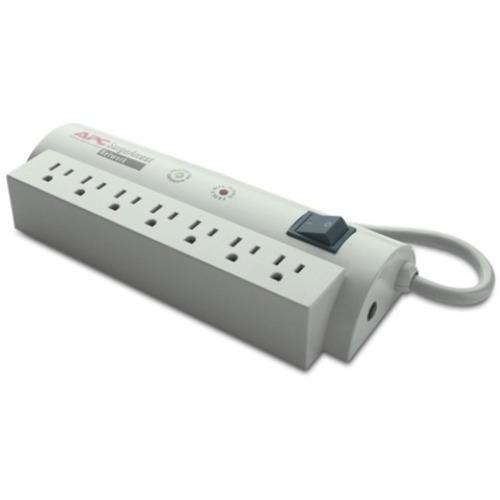 APC by Schneider Electric SurgeArrest Network 7 Outlets 120V - 7 x NEMA 5-15R - 480 J - 120 V AC Input - 120 V DC Output -