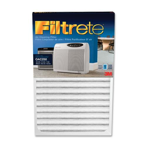 """Filtrete Replacement Air Filter - Activated Carbon - For Air Purifier - Remove Odor - 0 mil Particles - 1.6"""" Height x 11.9"""