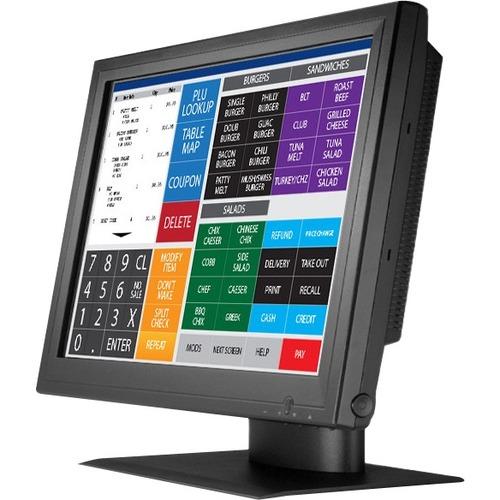 "GVision P15BX-AB-459G 15"" LCD Touchscreen Monitor - 4:3 - 8 ms - 15"" Class - 5-wire Resistive - 1024 x 768 - XGA - Adjusta"