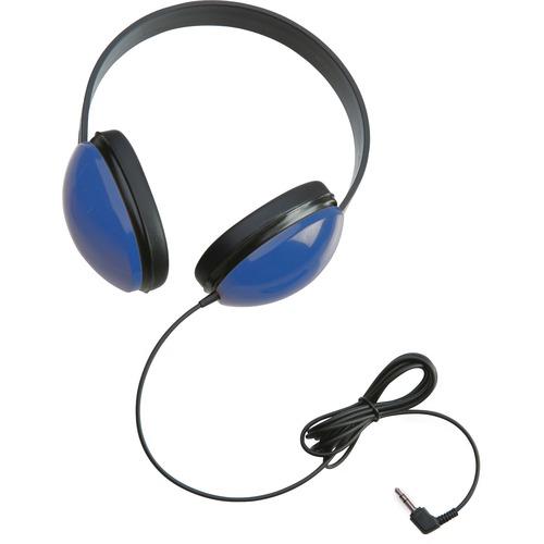 Califone Childrens Stereo Blue Headphone Lightweight - Stereo - Blue - Mini-phone (3.5mm) - Wired - 25 Ohm - 20 Hz 20 kHz