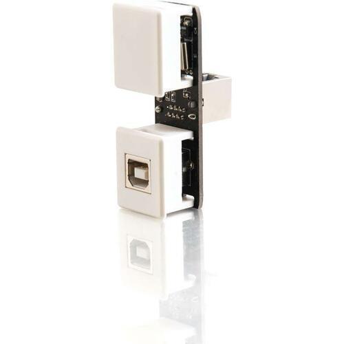 C2G USB 1.1 Keystone Extender Insert - Transmitter - 150 ft Extended Range INSERT