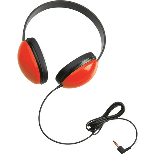 Califone Childrens Stereo Headphone Lightweight RED - Stereo - Red - Mini-phone (3.5mm) - Wired - 25 Ohm - 20 Hz 20 kHz -