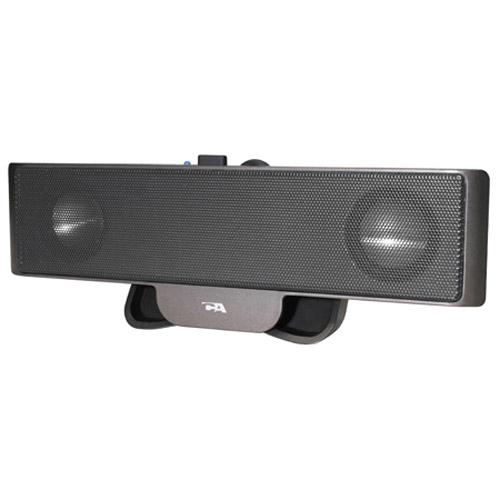 Cyber Acoustics CA-2880 Portable Sound Bar Speaker - USB SOUNBAR ATTACH ON LAPTOP WTH CLIP