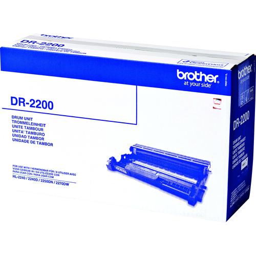 Tambour de numérisation d'images Brother DR2200 pour Imprimante Laser - Noir - 12000 - 1