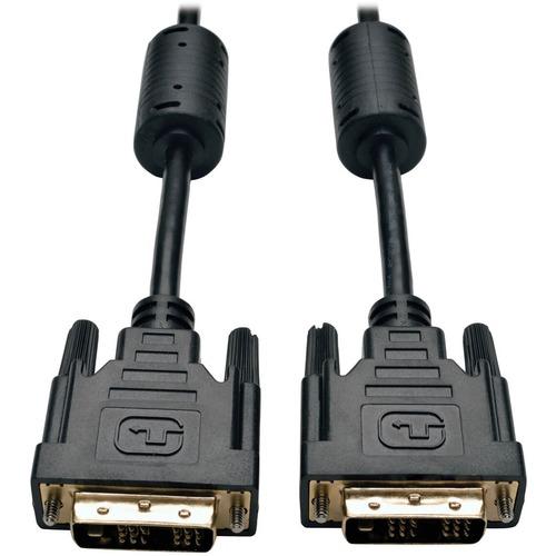 Tripp Lite 10ft DVI Single Link Digital TMDS Monitor Cable DVI-D M/M 10' - (DVI-D M/M) 10-ft. SINGLE LINK TMDS DVI-D 4.95G