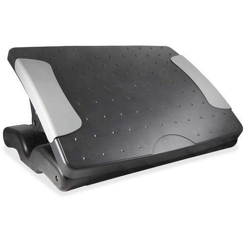 Kantek Height Adjustable Footrest - Black FOOTREST