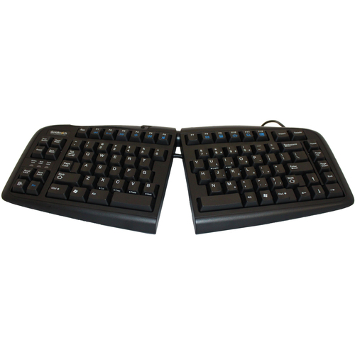 Goldtouch Goldtouch V2 Usb Ergonomic Split Keyboard Ps2 Adapter - Cable Connectivity - USB, PS/2 Interface - English, Fren