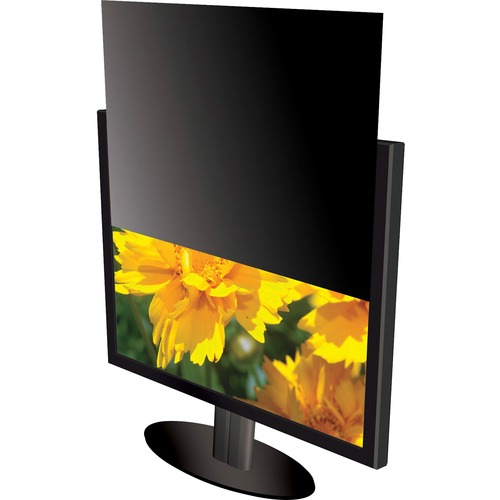 """Kantek LCD Monitor Blackout Privacy Screens Black - For 18.5"""" Widescreen Monitor, Notebook - 16:9 - Anti-glare - 1 Pack 18"""