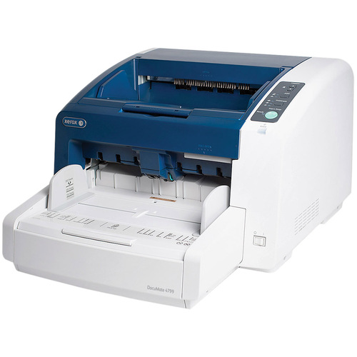 Xerox DocuMate 4799 Sheetfed Scanner - 600 dpi Optical - 24-bit Color - 8-bit Grayscale - 100 ppm (Mono) - 100 ppm (Color)