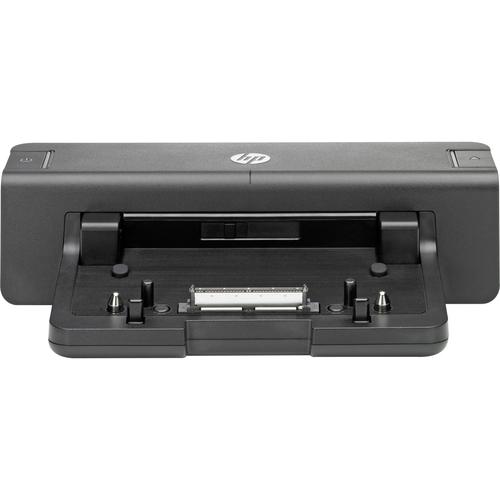 HP 2012 90W Docking Station - for Notebook - Proprietary Interface - 4 x USB Ports - 4 x USB 3.0 - Network (RJ-45) - DVI -