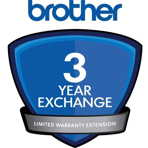 Brother Exchange - 3 Year Extended Warranty - Warranty - Service Depot - Exchange - Electronic and Physical Service DCP AN