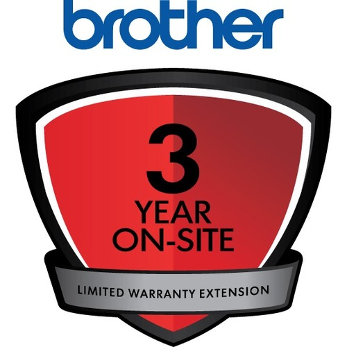 Brother On-site Warranty - 3 Year Extended Warranty - Warranty - On-site - Maintenance - Parts & Labor - Electronic and Ph