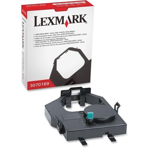 Ruban Lexmark - Noir - Matricielle - Rendement Élevé - 1 Unité