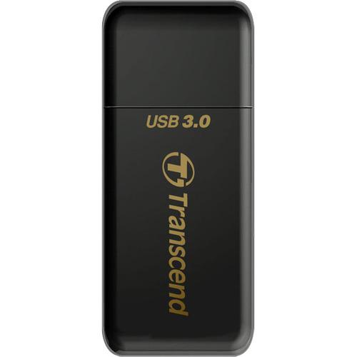 Transcend RDF5 Kartenleser - USB 3.0 - Extern - SDXC, SDHC, microSDXC, microSDHC, microSD, SD, TransFlash