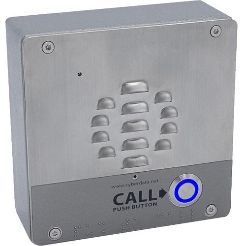 CyberData SIP Outdoor Intercom - Cable - Wall or Gooseneck Mount
