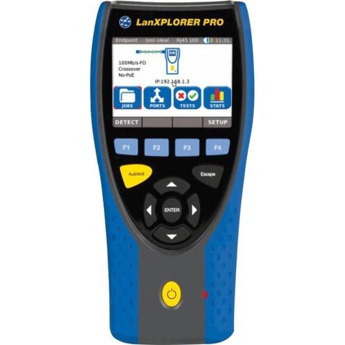 TREND Networks LanXPLORER PRO Premium R150001 - LAN Cable Testing, Wiremap, Crossed Pair Testing, PoE Testing, Current Mea