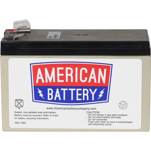 ABC Replacement Battery Cartridge - 7000 mAh - 12 V DC - Sealed Lead Acid (SLA) - Hot Swappable FOR APC UNITS 2YR WARRANTY