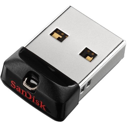SanDisk 16GB Cruzer Fit USB Flash Drive - 16 GB - USB - 2 Year Warranty USB 2