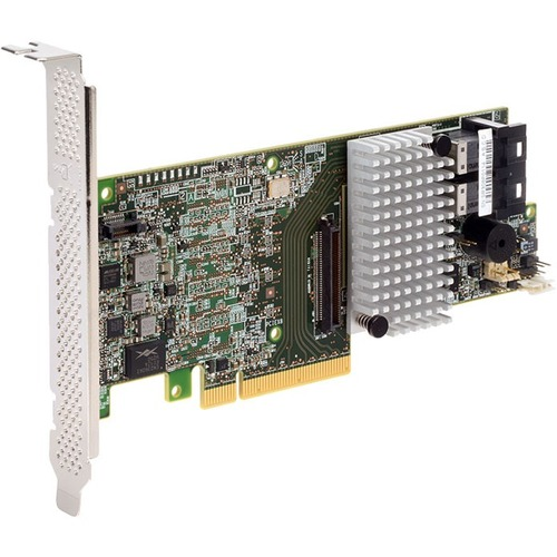 Intel RAID Controller RS3DC080 - 12Gb/s SAS - PCI Express 3.0 x8 - Low-profile - Plug-in Card - RAID Supported - 0, 1, 5,