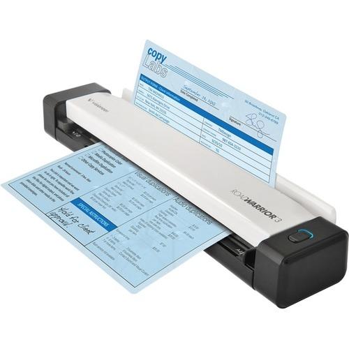 Visioneer RoadWarrior RW3-WU Sheetfed Scanner - 600 dpi Optical - 24-bit Color - 8-bit Grayscale - Duplex Scanning - USB T