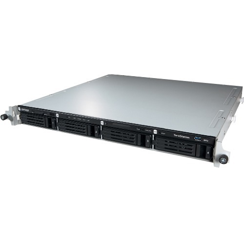 Buffalo TeraStation TS4400R 4 x Total Bays NAS Storage System - Intel Atom Dual-core (2 Core) 2.13 GHz - 2 GB RAM - DDR3 S