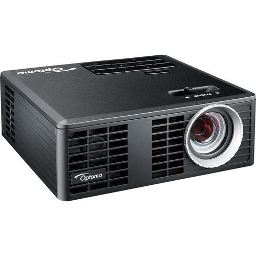 Optoma ML750 WXGA 700 Lumen 3D Ready Portable DLP LED Projector with MHL Enabled HDMI Port - 1280 x 800 - 720p - 20000 Hou