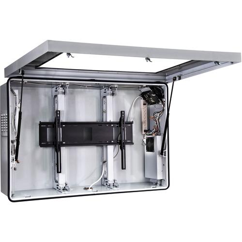 """Peerless-AV FPE42FH-UK-S Mounting Box - 101.6 cm to 106.7 cm (42"""") Screen Support"""