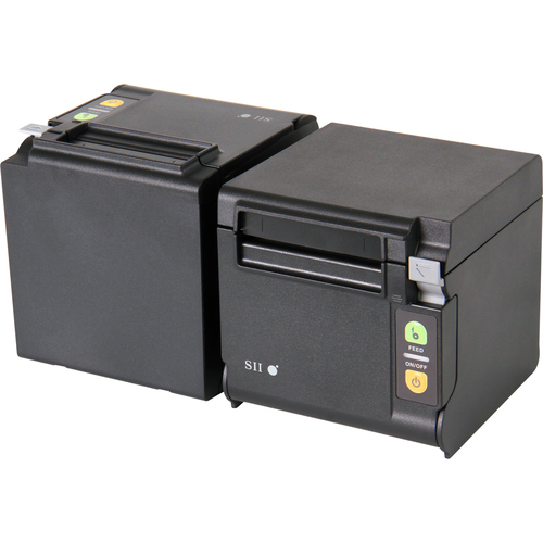 "Seiko Qaliber RP-D10-K27J1-U Desktop Direct Thermal Printer - Monochrome - Receipt Print - USB - Black - 2.83"" Print Width"