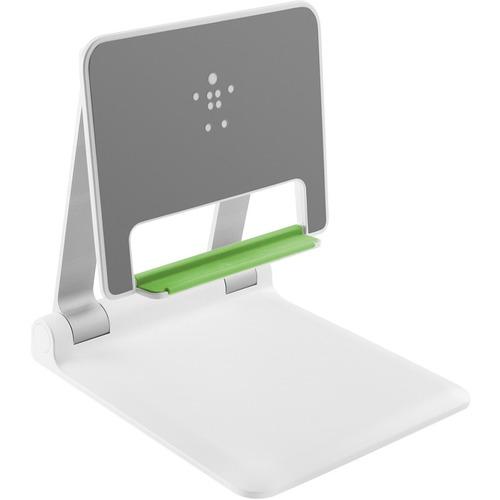 "Belkin Portable Tablet Stage - 9.8"" x 8.8"" x 9.1"" x - White"
