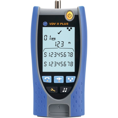 TREND Networks VDV II Plus - Voice, Video and Cable Verifier - Cable Length Testing, Coaxial Cable Testing, Twisted Pair C